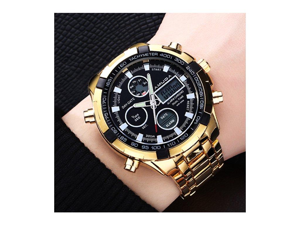 Pánské hodinky GoldWing - Slevotoč f828db68cb
