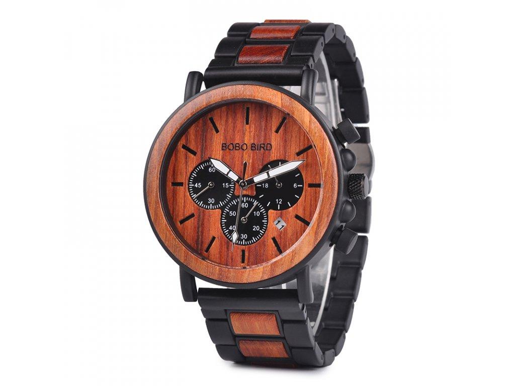 Dřevěné hodinky Wooda - Slevotoč 0313eb7488