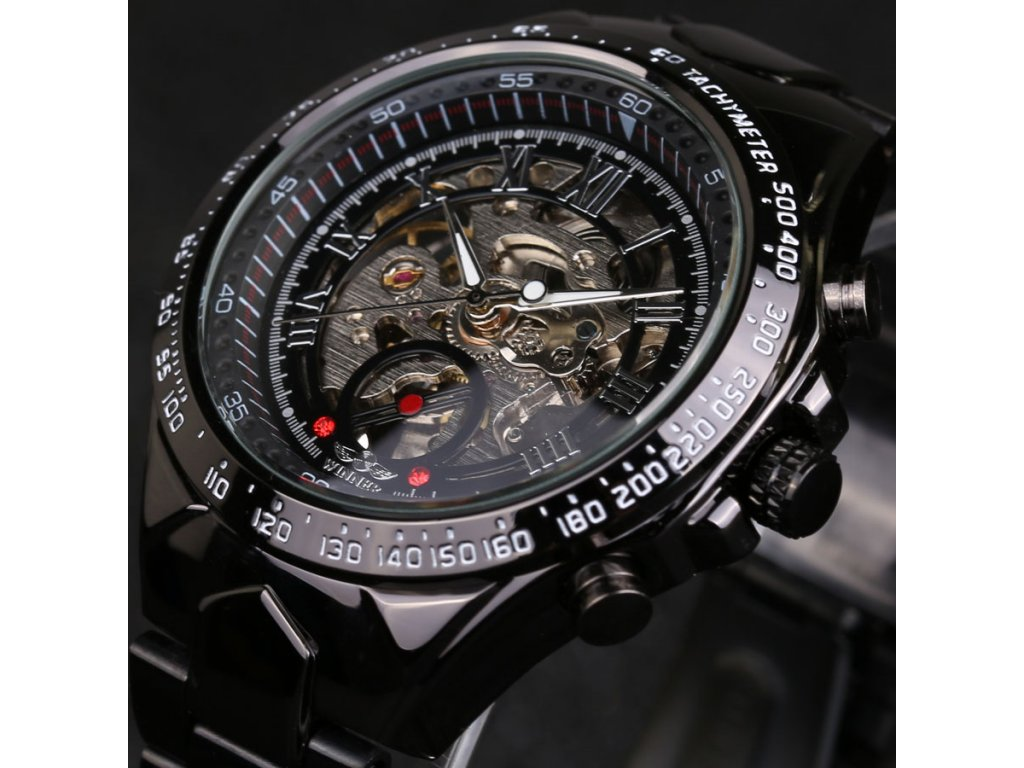 14b708ba97a Hodinky Winner Black Machine