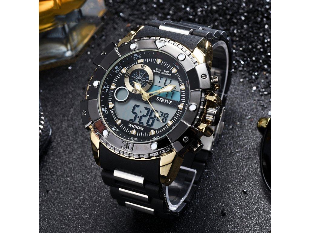 7aae4126b Odolné hodinky Stryve Digital - Slevotoč