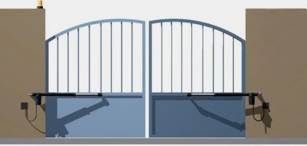 Dvoukřídlové brány