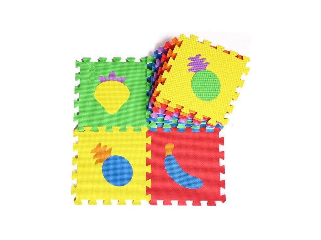 a93430a28 10PCS EVA Puzzle Mats Baby Play Carpet Mats Fruit Vegetable Baby Foam Floor  Mat Baby Educational