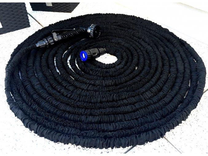 Černá 30 M Smršťovací zahradní hadice
