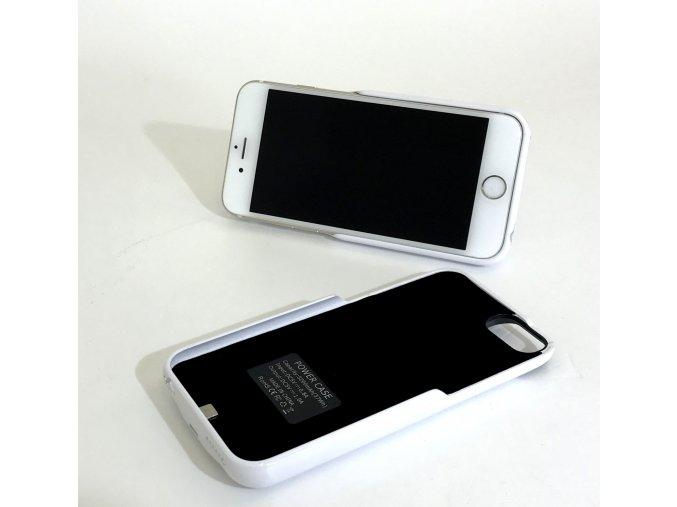 Perfektní nabíjecí pouzdro / kryt na iPhone 6, 7 - Bílá