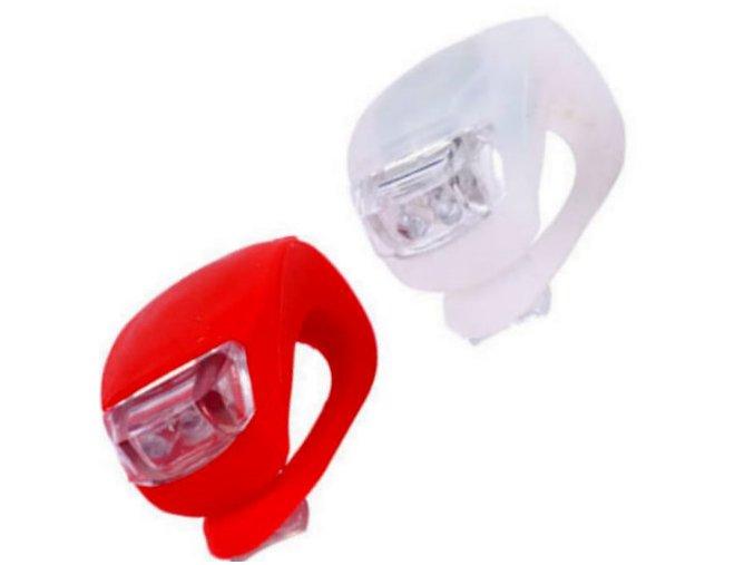 2 X LED osvětlení na kolo