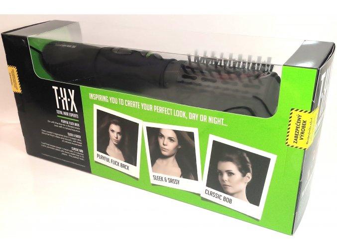 Horkovzdušná kulma, kulmofém na vlasy THX