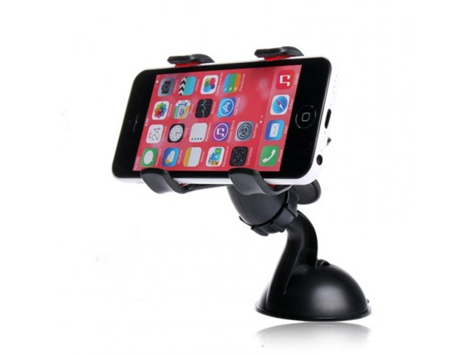 Double clip phone holder for car universal mobile cell phone mount car holder stand for iphone 6