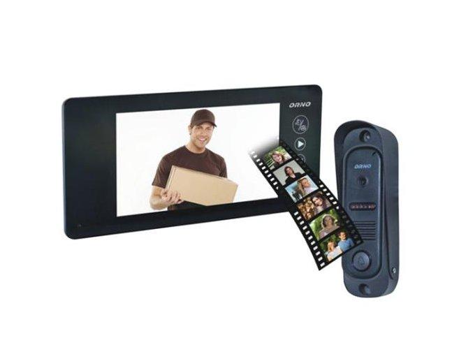 """Videotelefon Orno 1040 pro 1 účastníka LCD 7"""""""