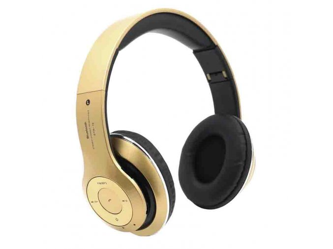 Wireless Bluetooth Headphones Microphone Micro SD Card Mp3 FM Player STN 16 Fone De Ouvido