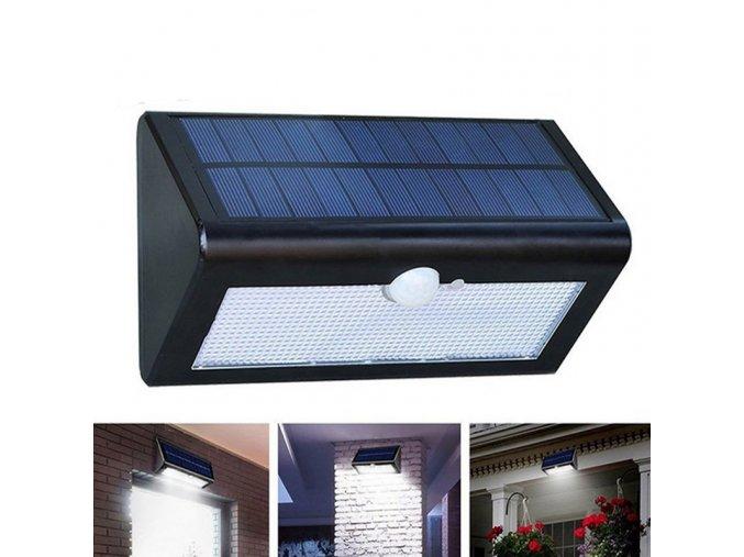 solar light operated radar sensor led street lamp