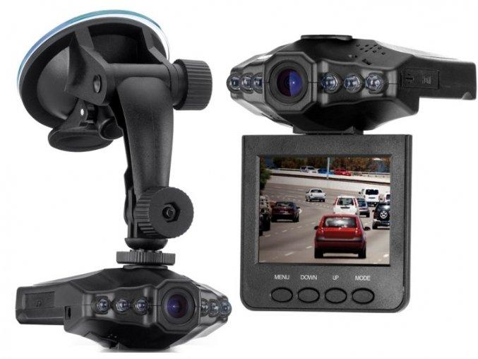 Mini HD - DVR kamera do auta  Stylová vyklápěcí kamera do auta