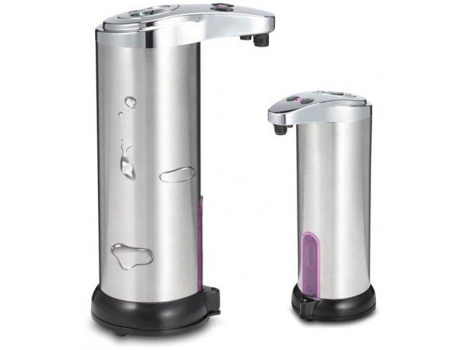 Bezdotykový, automatický dávkovač mýdla - nerez