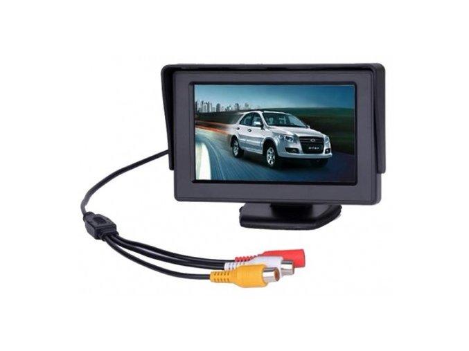 couvaci alarm s kamerou a monitorem ve zpetnem zrcatku 2