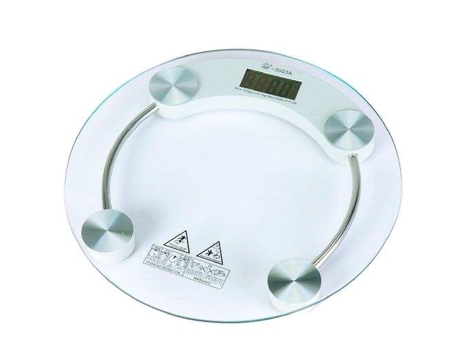 Osobní, skleněná, digitální váha do 180 kg