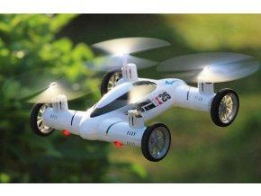 Dron, kvadrokoptéra, létající auto 2v1