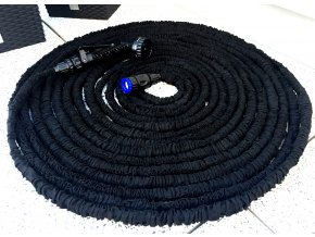 Černá 22,5 M Smršťovací zahradní hadice