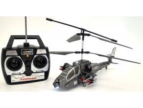 RC velký vojenský vrtulník na dálkové ovládání 39cm