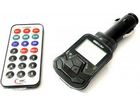 FM/MP3 transmitter do auta s ovladačem