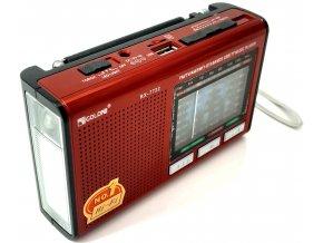 Nabíjecí přenosné rádio (USB, microSD)