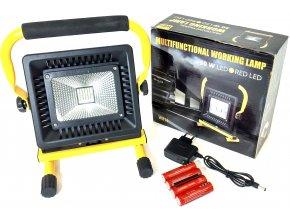 Nabíjecí přenosný reflektor 50W