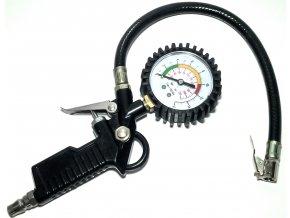Pistole tlaková s manometrem - pneuhustič