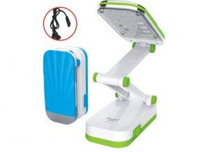 LED stolní, dotyková lampička s vestavěným akumulátorem