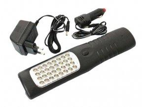 Multifunkční, dobíjecí LED svítilna