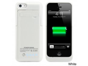 White Gearonic 2200mAH External Battery Case with Kickstand for iPhone 5C 84461809 4dad 4cd6 99ea 42fb206ba051