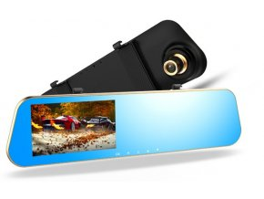 SmallAntTeach Full HD 1080P Car Dvrs Rear View Mirror With Dual Lens Camera Night Vision Dash.jpg 640x640