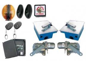 Podzemní pohony, sada s nerezovým boxem pro brány do 7m PROTECO KIT Shark INOX