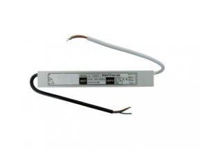 20W elektronický 12V zdroj venkovní IP66 DE LED 20W