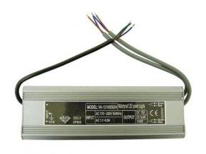 2x50W elektronický 12V zdroj venkovní, IP67 DE LED 2x50