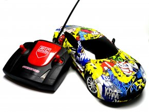 Nabíjecí auto na dálkové ovládání RC Aston Matin 1:18 - Joker