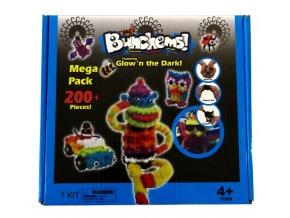 Krativní, svítící sada Bunchems Thorn Ball 200Ks