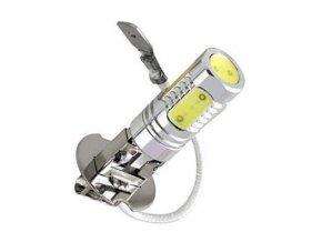 12V COB diodová autožárovka LED H3, svit bílá, 6W  LED K708