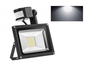 LED Floodlight PIR 10 20 30 50 100W High Power SMD Outdoor