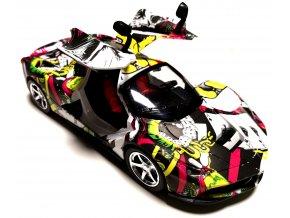 RC auto na dálkové ovládání Ferrari 1:16 - Grafitti