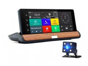 Multimediální zařízení do auta s Android OS, kamerou, GPS, Wifi a Bluetooth LURECOM CAR CAM Q37