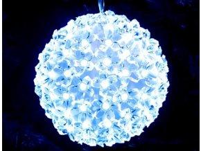 Vánoční světelná koule, prům. 12cm, svit bílá studená a bílá teplá  VOR koule 12
