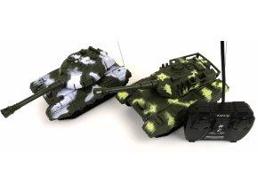 RC Tank na dálkové ovládání 2 barvy