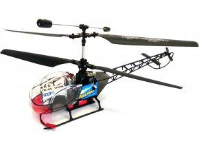 RC velký vrtulník, helikoptéra 27MHz na dálkoové ovládání 36cm