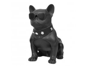 Bezdrátový bluetooth reproduktor Bulldog - černá