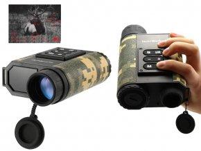 Infračervené vojenské noční vidění LRNV009, laserový dálkoměr 6x32 zoom