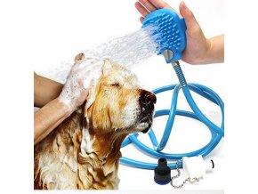 Ruční masážní sprcha pro psy