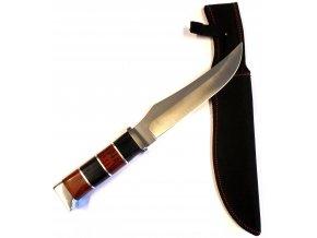 Velký nůž s pouzdrem 32 cm