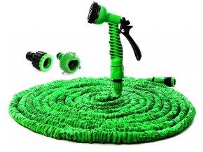 Smršťovací zahradní flexi hadice zelená 15 M