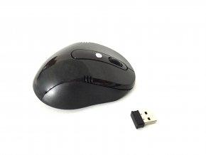 Bezdrátová myš 2.4GHz - černá