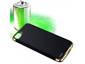 Kryt s baterií power bank 3500 mAh pro iPhone 6/7/8 - černá