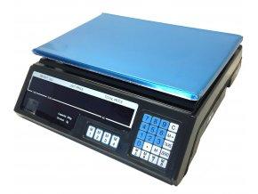 Digitální prodejní váha 30 kg/5g s LCD