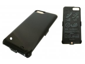 Nabíjecí kryt, powerbanka 10000mAh pro iPhone 6 plus/7 plus - černá